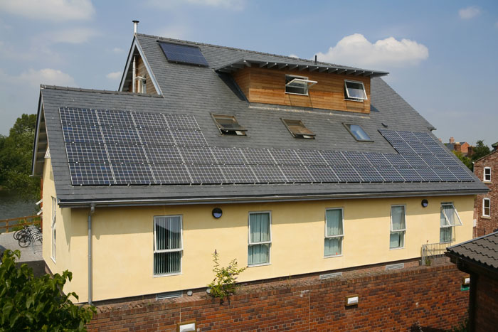 Millions of buildings need solar and the EU want the UK to increase VAT to 20%