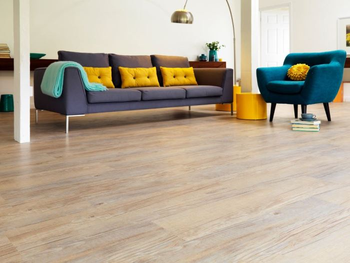 Business lounge? With help from Karndean flooring