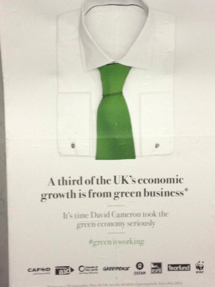 Green business can create an escape route from economic challenges