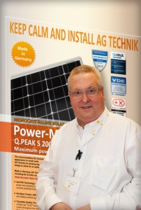 Richard Williams pioneering a campaign to step up Made in Britain Solar PV with established Bespoke PV team